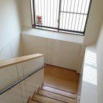 リフォーム工事(小倉南区S施設キッチンパネル張りリフォーム工事完了⑤)階段部
