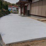 エクステリア工事(北九州市小倉南区 M様邸 工事完了①)土間コンクリート工事